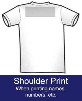 shoulder neck print